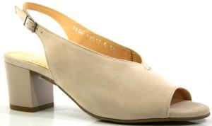 667f54f4d6128 Buty damskie letnie modne polskie sandały pudrowe Acord 8600