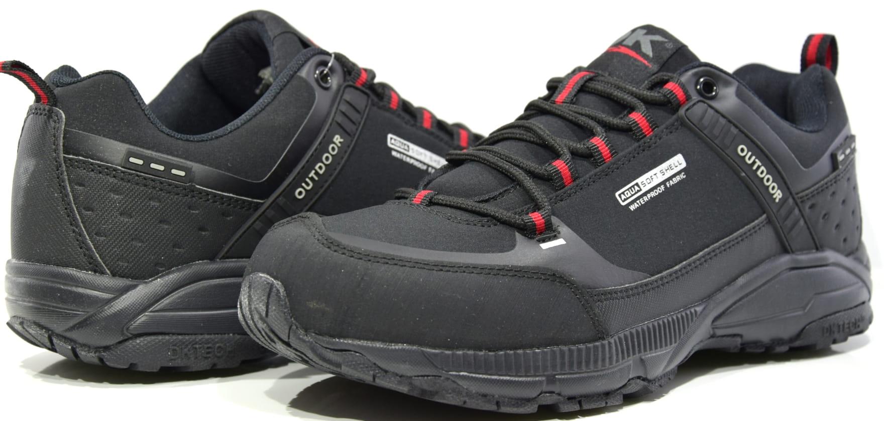 6a54df7073b45c Obuwie sportowe adidasy męskie czarne DK 1096 BLK/RED PANDA Sklep ...