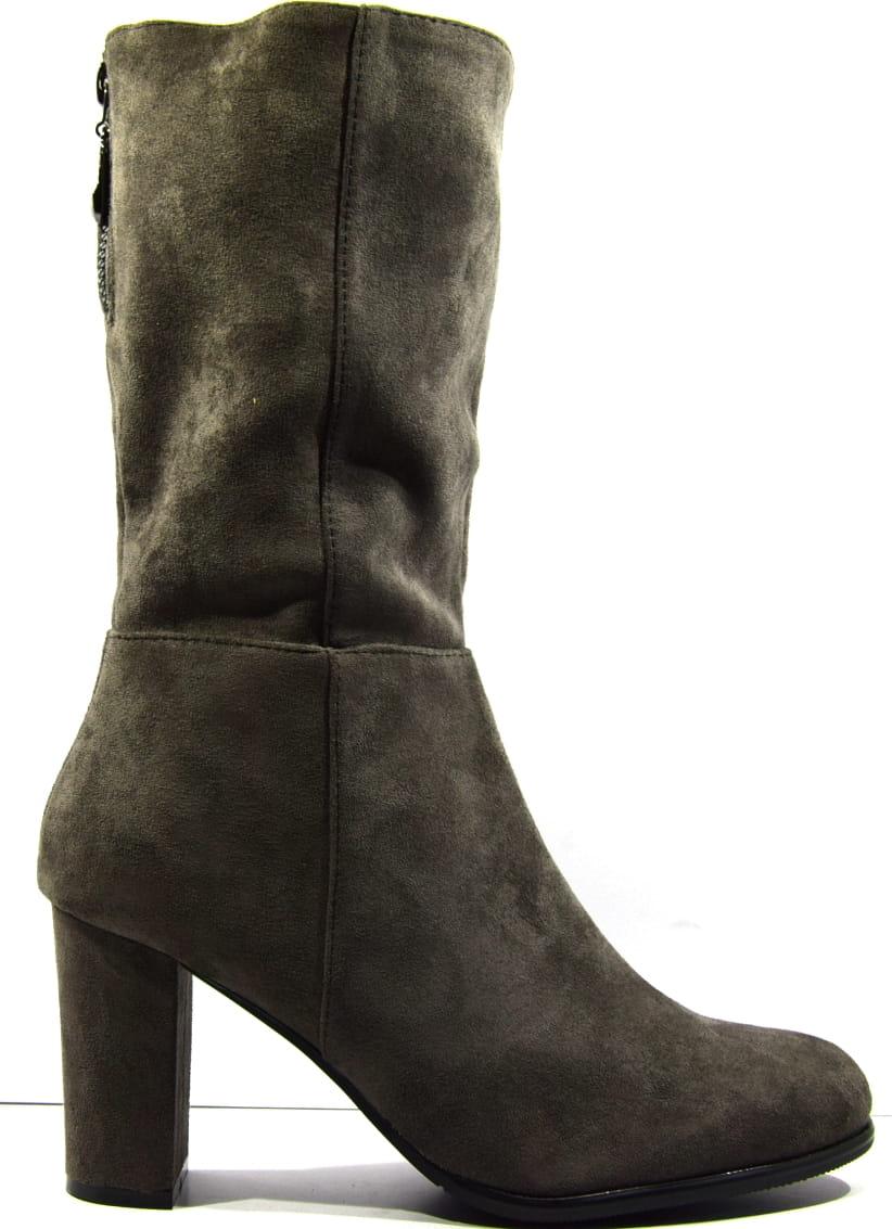 Buty damskie kowbojki sztyblety skórzane obuwie modne HIT rude Vanessa 1431
