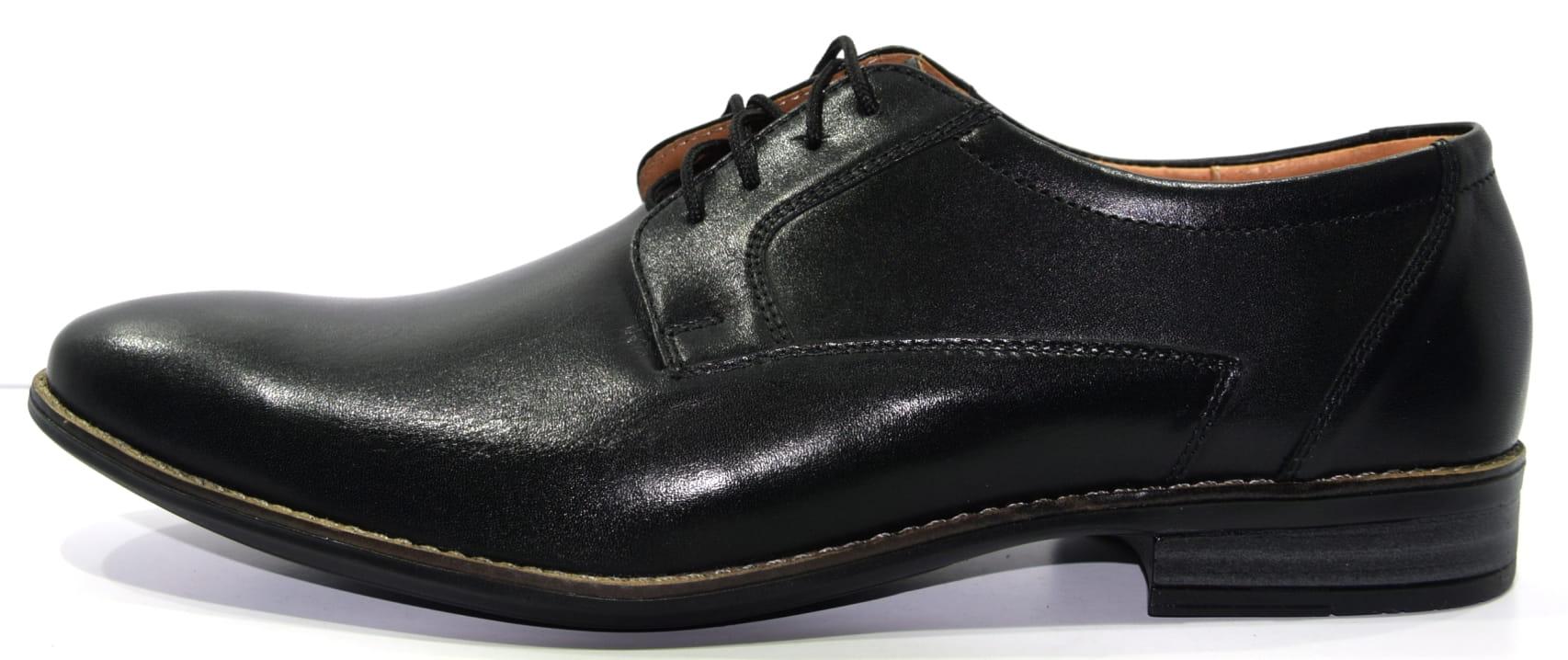 5b92c0a7 Obuwie męskie półbut buty skórzane polskie Moskała czarny rustik 880.  DSC_0041.JPG. DSC_0041.